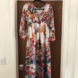 Zara M long caftan dress!